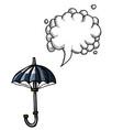 umbrella icon shelter symbol-100 vector image