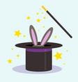 magic trick vector image