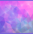 abstract triangular mosaic purple pink background vector image