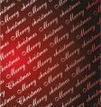 Christmas card paper background vector image vector image