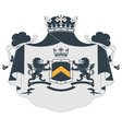 coat arms2 vector image