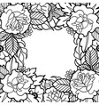 graphic floral design vector image