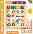 owls bingo level shapes 1