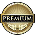 premium gold icon vector image vector image