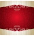 red valentine background with many hearts vector image vector image