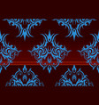 Repeating swirl wallpaper vector image vector image