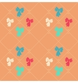 Seamless geometric baby pattern Texture of vector image