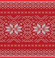 seamless knitting pattern eps 10 vector image vector image
