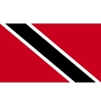 Trinidad and Tobago flag image vector image vector image