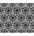 Abstract steampunk seamless hand-drawn pattern vector image
