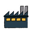building industrial business ecology environment vector image