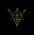 golden sigil protection magical amulet wiccan