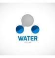 Water symbol vector image