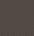 Abstract geometric hexagon seamless pattern vector image vector image