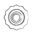 computer gear symbol vector image vector image