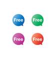 Free label tag bubble set