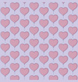 heart ballons design vector image vector image
