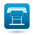 Large format inkjet printer icon in simple style vector image vector image