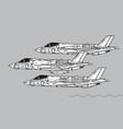 lockheed martin f-35 lightning ii all variants vector image vector image