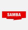 samba vector image vector image