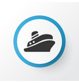 shipping tour icon symbol premium quality vector image