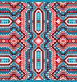 vivid ethnic tribal seamless pattern aztec style vector image vector image