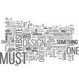 what makes a site lucrative text word cloud vector image vector image