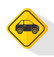 car service sign vector image