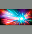 abstract background with blurred magic neon color vector image