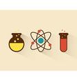 atom design vector image vector image