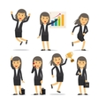 Businesswoman character vector image vector image