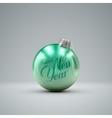 Christmas ball Holiday vector image