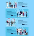 corporate party set of four on vector image vector image