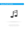music icon for web business finance and vector image vector image