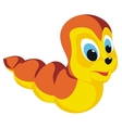 worm vector image vector image