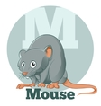 ABC Cartoon Mouse vector image vector image
