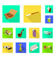 accessories and harm icon vector image vector image