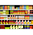 Cleaning supplies vector image vector image