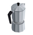 coffee maker kettle icon isometric style vector image vector image