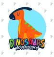 cute dinosaurs set vector image vector image