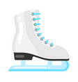 icon figure skating skate in flat style vector image
