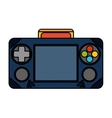 Isolated videogame control design vector image vector image