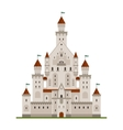 Medieval fairytale castle or palace vector image