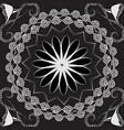 modern luxury greek seamless mandala pattern vector image vector image