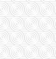 Paper white merging spirals on stripes vector image vector image