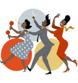 Party dance vector image vector image