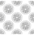 seamless pattern made from lemon grapefruit vector image vector image