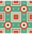 abstract geometric seamless retro pattern vector image vector image