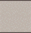 beige knitted seamless pattern vector image vector image