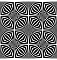 black and white abstract geometric background vector image